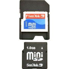 SanDisk 1GB miniSD Card