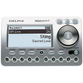 Delphi SkyFi2 XM Satellite Radio Receiver and Car Kit