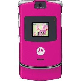 Motorola RAZR V3 Magenta Pink Phone (Unlocked)