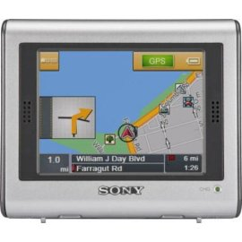 Sony NV-U70 nav-u GPS Portable Vehicle Navigation System