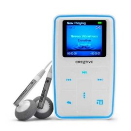 Creative Zen Micro Photo 8 GB MP3 Player - White