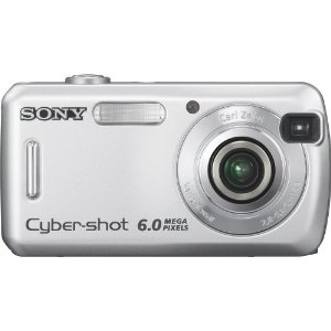 Sony Cybershot DSC-S600 6MP Digital Camera with 3x Optical Zoom