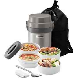Zojirushi Mr. Bento Stainless-Steel lined Lunch Jar Lunch Box