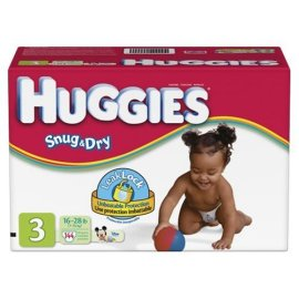 Huggies Diapers with Gigglastic Waistband, Size 3 (16-28 lb), Disney, 144 diapers