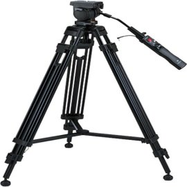 Sony VCT1170RM High Grade Tripod w/ True Fluid Head & Remote Control (LANC Terminal)