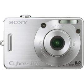 Sony Cybershot DSCW50 6MP Digital Camera with  3x Optical Zoom