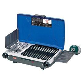 Coleman 9922-750 Propane Grill/Stove with Instastart, Blue