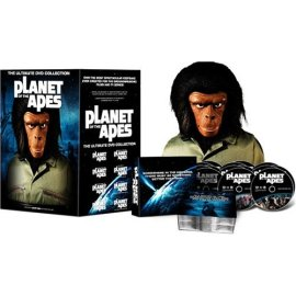 Planet of the Apes - The Ultimate DVD Collection - With Ape Head Packaging