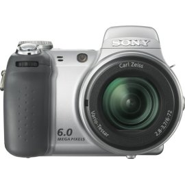 Sony Cybershot DSC-H2 6MP Digital Camera with 12x Optical Image Stabilization Zoom