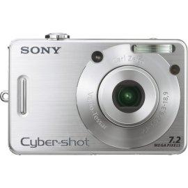 Sony Cybershot DSCW70 7MP Digital Camera with  3x Optical Zoom