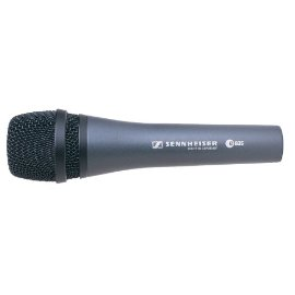 Sennheiser E835-S Lead Vocal Stage Microphone - charcoal