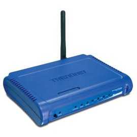 TRENDnet TEW-432BRP - 54Mbps 802.11g Wireless Firewall Router