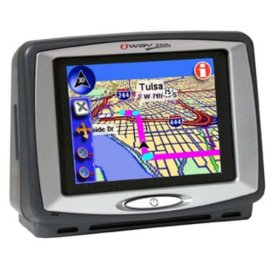 Lowrance iWay 350C Portable GPS Navigation System with MP3 Player and Picture Viewer