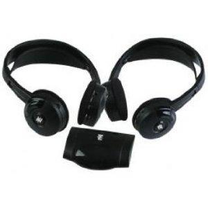 Wireless Ir Headphones with Transmitter