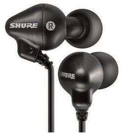 Shure E2c-n Sound Isolating Earphones in Black for ipod, Nano, Personal Audio Devices