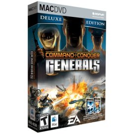 Command and Conquer Generals Deluxe DVD-Rom (Mac)