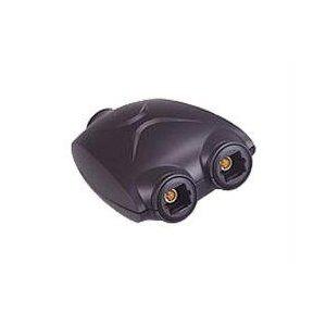 Cables To Go - Digital audio splitter (optical) - TOS Link (F) - TOS Link (F) - black