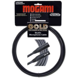 Mogami Gold Neglex Quad Mic Cable for Studio Neutrik XLR, 6 Foot
