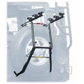 Allen Deluxe Spare Tire Mounted 3-Bike Carrier