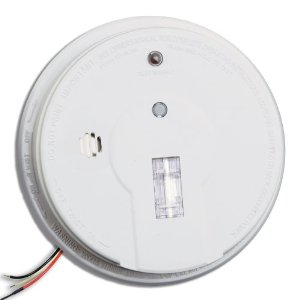 Kidde Professional 1285K Premium Plus 120V AC Hardwire Smoke & Fire Alarm with Exit Light