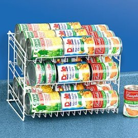 Can Rack Adjustable Roll Down Rack - 3 Tiers!