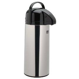 Zojirushi AAPE-25SC 2.5 liter Brew-Thru Air Pot, Polished Stainless Steel