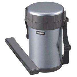 Zojirushi Classic Stainless Lunch Jar, Metallic Gray
