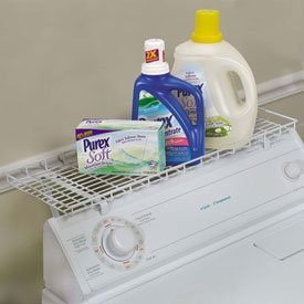 Whitney Design Over Washer Storage Shelf - White