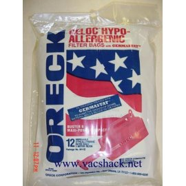Oreck Celoc Hypo-Allergenic Canister Bags 12 pk