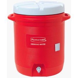 Rubbermaid 1610-01-11 10-Gallon Orange Community Water Cooler