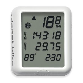 Planet Bike Protege 9.0 4 Line Display Bicycle Computer with Temperature display
