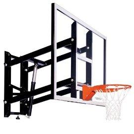 Goalsetter Systems GS72 Wall-Mount Adjustable Basketball Hoop with 72 Inch Acrylic Backboard