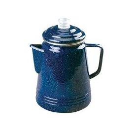 Coleman 14-Cup Coffee Enamelware Percolator (Blue)