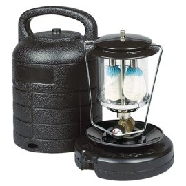Century Portable Double Mantle Lantern with Case