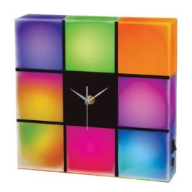 Color-Changing LED Clock