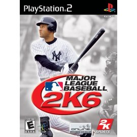 PS2 Major League Baseball 2K6