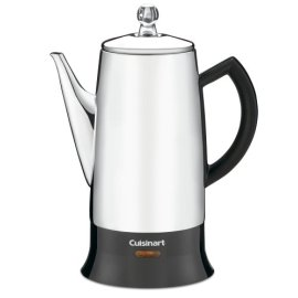 Cuisinart PRC-12 Classic 12-Cup Stainless-Steel Percolator - Stainless/ Black