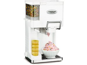 Cuisinart ICE-45 White Soft Serve Ice Cream Maker 1.5-qt.