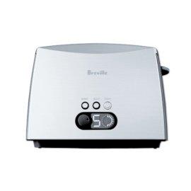 Breville CT70XL Ikon 2-Slice Electric Toaster - Brushed Stnless Stl