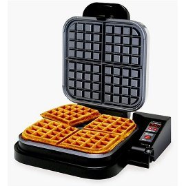 Chef's Choice M850 WafflePro-Square-Brushed Finish