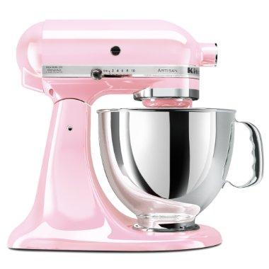 KitchenAid KSM150PSPK Artisan 5Qt Stand Mixer (Pink)
