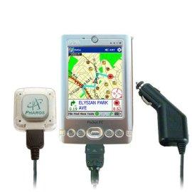 Pharos Pocket GPS Navigator Axim X3SW US Maps Car Charger PDA Holder