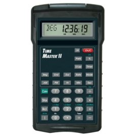 Time Master II advanced time calculator with case