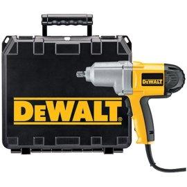 DEWALT DW292K Heavy-Duty 1/2 (13mm) Impact Wrench Kit w/Detent Pin Anvil