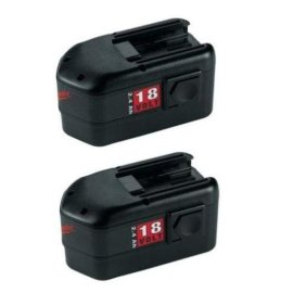 Milwaukee 48-11-2232  18 Volt Battery Value Pack