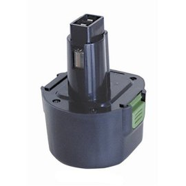 TopCell DW-9614 9.6 Volt 1.4 Ah Replacement Battery for DeWalt and Black & Decker Tools