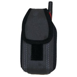 McGuire Nicholas 72416BLK Mini Cell Phone Holder with 2 Way Carry Design in Black
