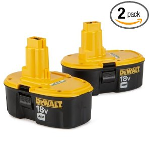 DeWalt 18v XRP 2-Battery Combo Pack DC9096-2