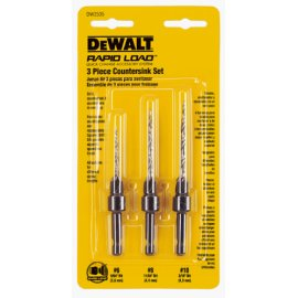DEWALT DW2535 3-Piece Countersink Set
