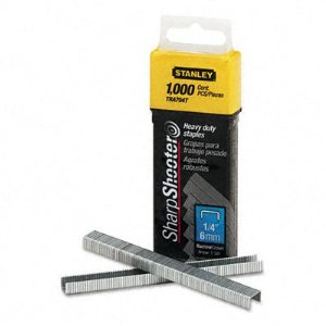 STANLEY CONSUMER TOOLS #TRA704T 1,000CT 1/4 HD Staples